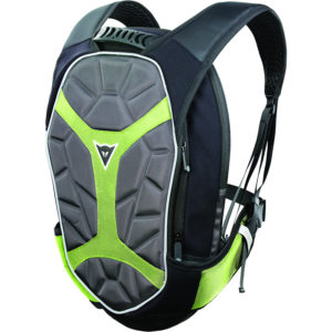 Mochila Dainese D-Exchange Backpack S Black Anthracite Fluo Yellow - 1